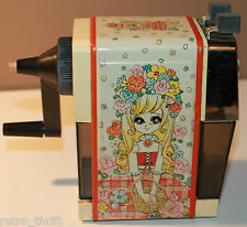 Mitsubishi HS-165 Manual Pencil Sharpener with Anime Girl on it