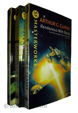 Arthur C Clarke 3 Books Classic SF Collection Set Rama City Stars Moondust New