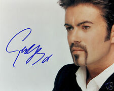GEORGE MICHAEL AUTOGRAPH SIGNED PP PHOTO POSTER 1