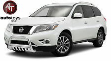 ATU Stainless Bull Bar Brush Bumper Guard [Fits: 2013-2016 Nissan Pathfinder ]