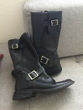 Motor Cycle Boots Women Size 8