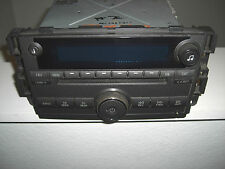 2006-2009 GM Buick Lucerne 6 CD Disc Changer AM/FM Stereo Radio w/Aux 15797876