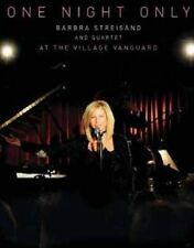 BARBRA STREISAND ~ ONE NIGHT ONLY AT THE VILLAGE VANGUARD ~ DVD