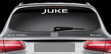 Rear Window Sticker fits Nissan Juke Vinyl Decal Emblem Car Logo RW121