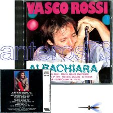 "VASCO ROSSI ""ALBACHIARA"" RARO CD 1a STAMPA MADE IN FRANCE NO BARCODE"