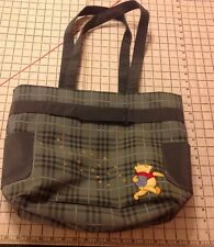 Disney Winnie The Pooh Bag Travel Tote Beach Bag Wipeable Baby Diaper Book Bag