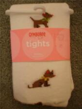 NWT Gymboree LOTS OF DOTS Puppy Dog Tights Girls 0-6 mo