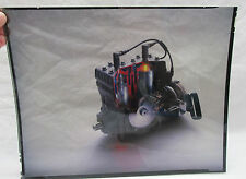 Vintage Ski Doo Everest Engine Snowmobile Photo Transparency Phil Mickelson