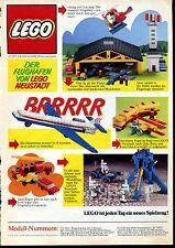 Lego-- Der Flughafen von LEGO Neustadt --Werbung von 1975--