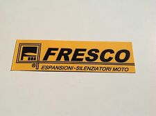 1x FRESCO Yamaha Suzuki Kawasaki Honda Moped Exhaust tailpipe sticker decal