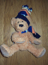 Baby boy / girl sun kid teddy bear with scarf and hat