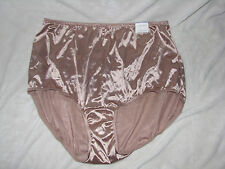 LANE BRYANT INTIMATES CACIQUE SECOND SKIN SATIN PANTIES FULL BRIEFS TAUPE 22 24