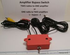 Remote BYPASS switch for Amplifier keying relay interface amateur radio linear
