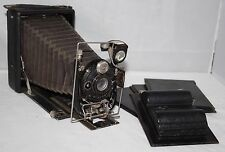 Cabossel & Hude, Paris - La Minerva - 1930 Quarter Plate Folding Camera -Working