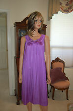 VINTAGE SHADOWLINE SHEER NYLON  NIGHTGOWN , SIZE SMALL, #32850