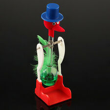 Retro Novelty Drinking Water Bird Toy Lucky Happy Duck Bobbing Educational Toy