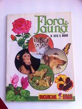 ALBUM vuoto FLORA E FAUNA DI TUTTO IL MONDO Edis 1982