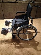 "Karman LT-980 Ultra Light Wheelchair Black  18"" x 16"" Seat"