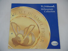 Goebel M.J. Hummel Catalogue Millennium Collection 2000 mes Numéro d'article 11