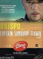 Publicité advertising 2010 Concert Pascal Obispo à L'Olympia