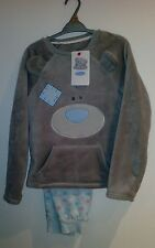 Official Me to You Pyjamas Set Fleece Grey 9-10 years  • HIGHEST QUALITY • GIFT