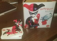 Harley Quinn Mini Statue Not Playing with a Full Deck DC Direct Bruce Timm