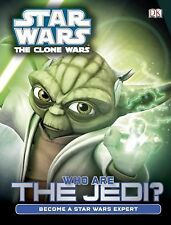 Hardcover book STAR WARS THE CLONE WARS Who Are the Jedi? DK PUBLISHING