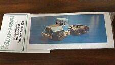 Alloy Forms #3011 - Mack RM 800 tractor truck kit. 1/87th scale.