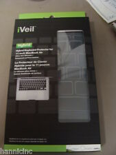 "Green Onions Supply iVeil Hybrid Keyboard Protector for 11""  Apple Macbook Air"