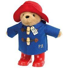 """Paddington bear plush toy avec bottes de pluie 8.5 """"sous licence Rainbow designs"""