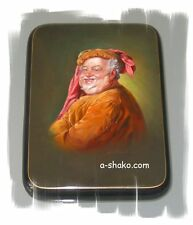 Russian Lacquer Box Grutzner FALSTAFF Shakespeare Fedoskino BEST QUALITY