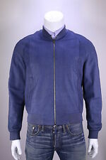 * LOUIS VUITTON * $25,000 Blue Python Bomber Jacket Men's US 42