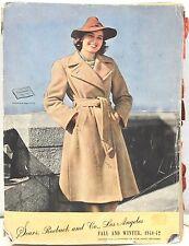 Original 1941-42 Fall Winter Sears & Roebuck - West Coast Catalog – Western Wear