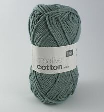 Rico Creative Cotton Aran -  Cotton Knitting & Crochet Yarn - Patina 43