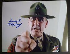 "R. LEE ERMEY Authentic Hand-Signed ""FULL METAL JACKET - YOU"" 11x14 Photo (PROOF)"