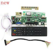 LCD LED screen Controller Driver  Board kit for LP133WX1-TLA1 TV+HDMI+VGA+USB