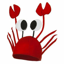 Party Funny Accessory Novelty Lobster Crab Crawfish Seafood Halloween Hat Caps