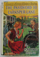 Nancy Drew #10 PASSWORD TO LARKSPUR LANE Carolyn Keene Digger EPs Dust Jacket
