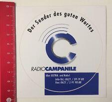 Aufkleber/Sticker: Radio Campanile - Der Sender Des Guten Wortes (12051675)