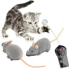 Wireless Remote Control RC HOC Electronic Rat Mouse Mice Toy For Cat Puppy Gift