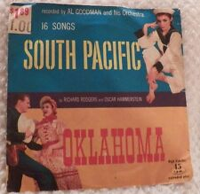 South Pacific & Oklahoma by Rogers & Hammerstein Record 45 rpm 16 Songs