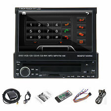 1 Din singolo 7 HD LCD Touch Screen autoradio con lettore cd riproduttore DVD