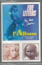 K7 AUDIO (TAPE)   FIVE LETTERS *MA KEEN DAWN* (SCELLEE)