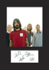 FOO FIGHTERS A5 Signed Mounted Photo Print - FREE DELIVERY