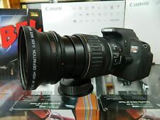New 72MM .43X Wide Angle Macro Lens For Canon EF EF-S 28-135mm 28-200mm 18-200mm