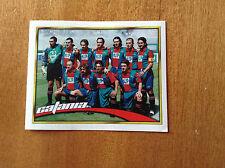 CALCIO MERLIN 2000 n 636 CATANIA SQUADRA Figurina Sticker Calciatori NEW
