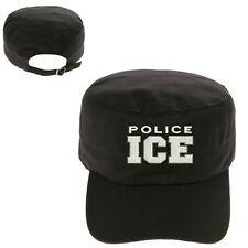 U.S. Immigration and Customs Enforcement ICE POLICE ARMY CAP HAT CADET CASTRO