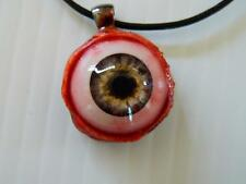 Halloween Horror Prop -  EYEBALL Pendant for costume or cos play! (Infectd Gray)