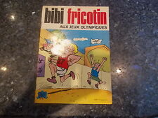 belle reedition brochee bibi fricotin aux jeux olympiques