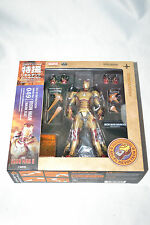 Kaiyodo Revoltech Sci-Fi 049 Iron Man Mark MK XLII 42 Marvel Iron Man 3 Used
